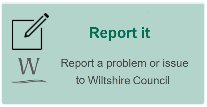 Report a problem or issue to Wiltshire Council