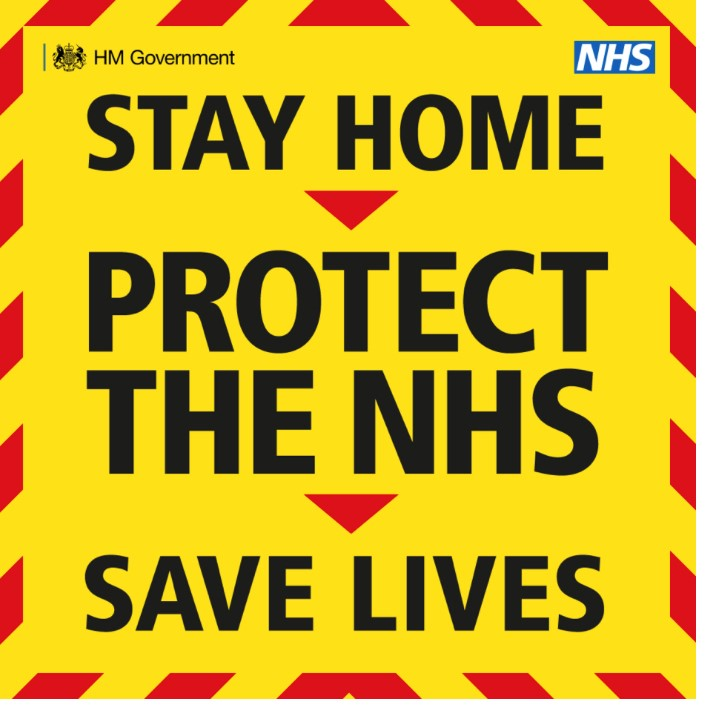 Stay Home Protect the NHS Protect Lives